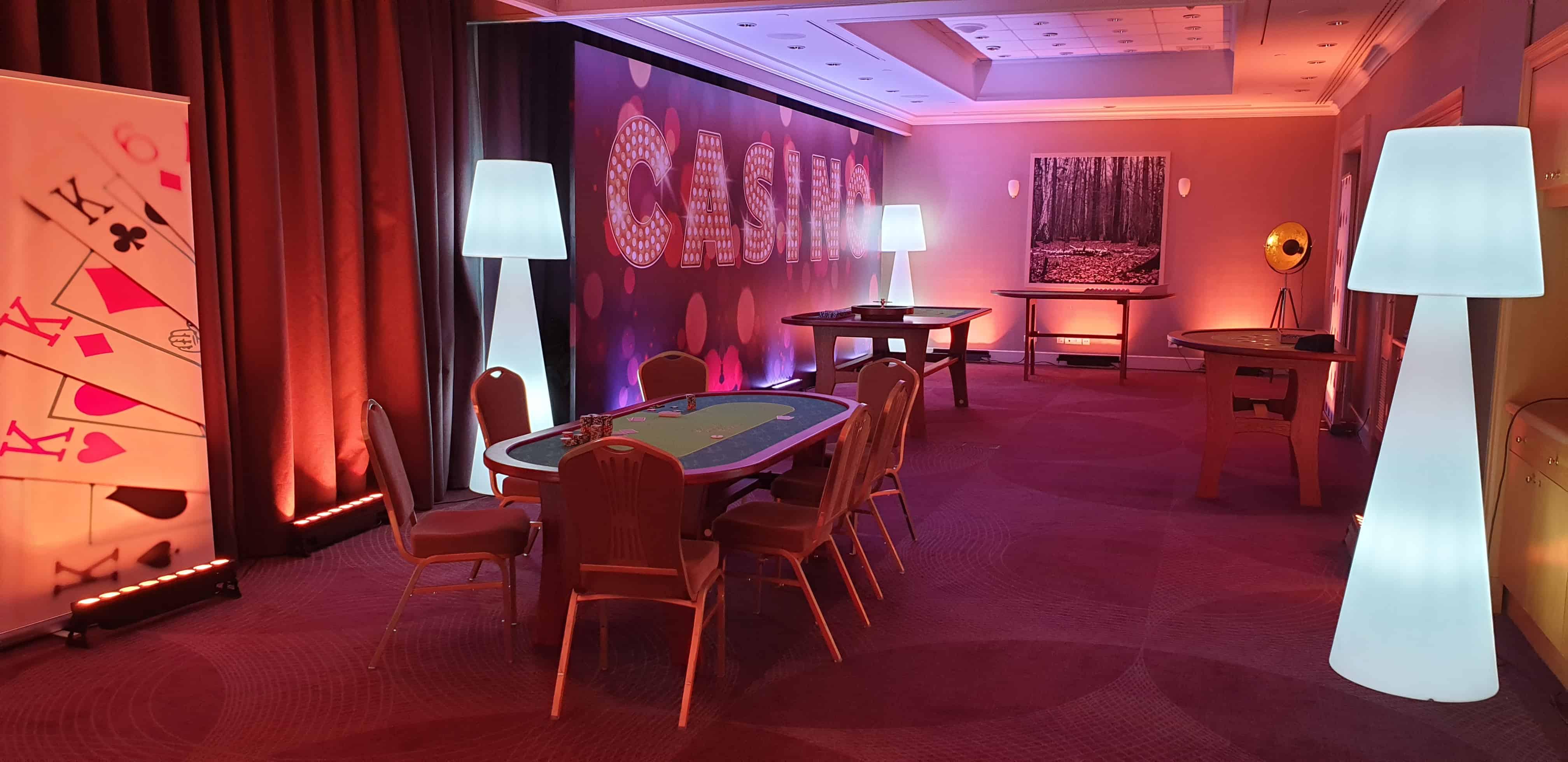 stoły kasyno wynajem